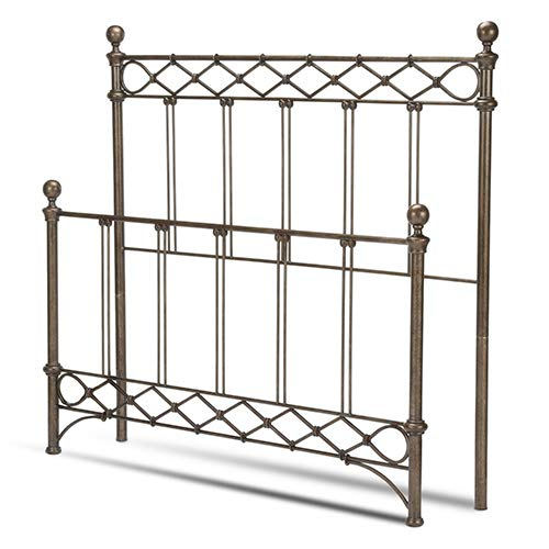 Argyle Metal Bed - Argyle King Size Headboard and Footboard by Fashion Bed Group