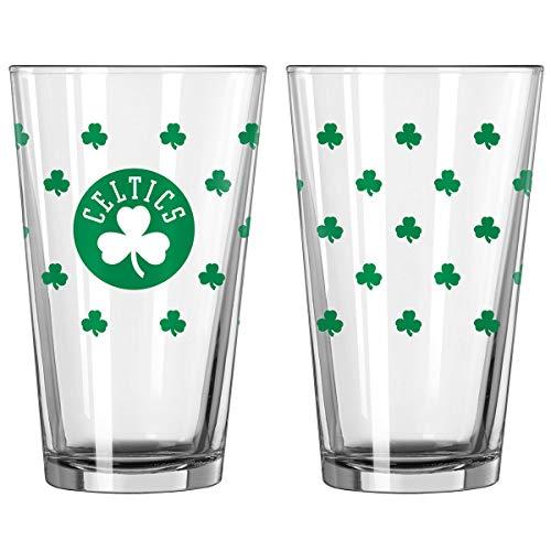 Boston Celtics St. Patricks Day 16 Oz. Pint Glass One Color One Size]()
