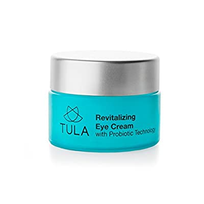 TULA Revitalizing Eye Cream with Probiotic Technology - Minimizes Fine Lines, Dark Circles & Puffiness, 0.5 oz.