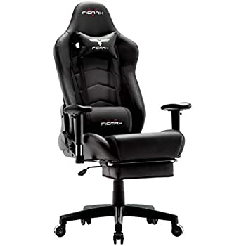 Awesome Ficmax Ergonomic Gaming Chair Massage Computer Gaming Chair Reclining Racing Office Chair With Footrest High Back Gamer Chair For E Sports Large Size Uwap Interior Chair Design Uwaporg