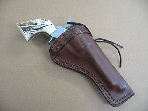 Azula Custom Leather Molded Cross Draw Gun Holster for Ruger Single Six 5.5