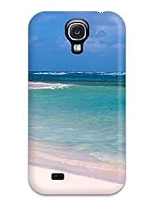 Christmas Gifts 7414618K69584488 Shock-dirt Proof Flamenco Beach Case Cover For Galaxy S4