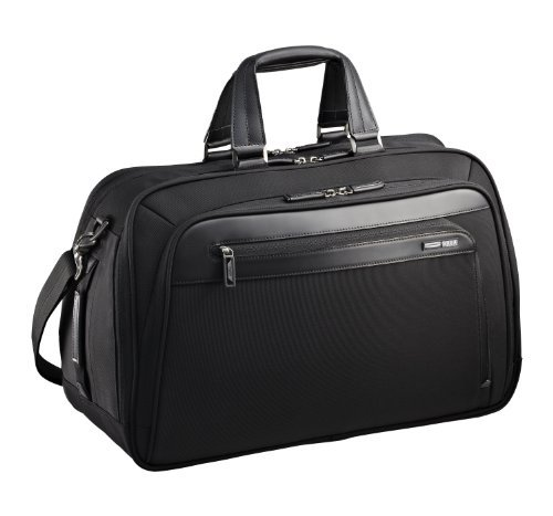 Zero Halliburton Profile 20 Inch Business Duffle Bag, Black, One Size