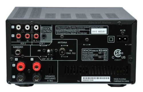 Denon D M39s 192khz 24 Bit Micro Component System For