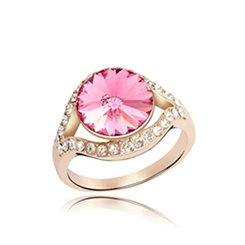 epinki-gold-plated-ring-womens-rose-red-hollow-round-single-crystal-hollow-round-ring-size-8