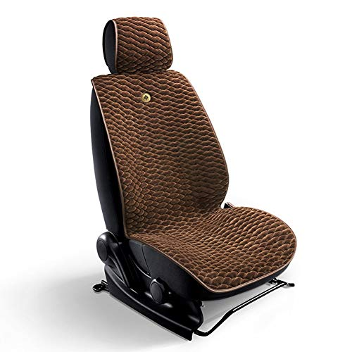 YXZN Car Seat Cushion Universal Winter Short Plush Comfort Warm Nonslip Seats Cover,Brown,Universal: Sports & Outdoors