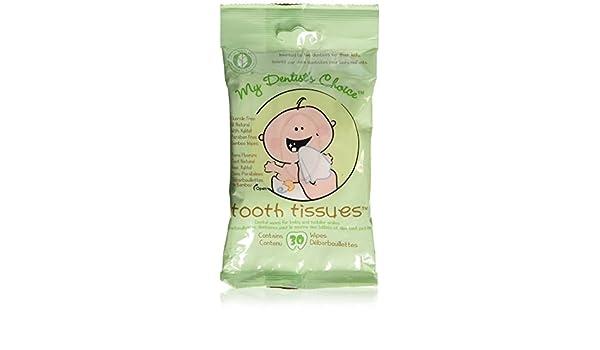 Dents Mouchoirs Lingettes Hygiène bucco-dentaire Gum --Lingettes dentaires pour bébé et pour les dents et les gencives (Lot de 3 paquets de 30 lingettes): ...