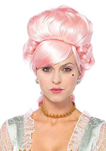 Marie Antoinette Outfits (Pastel Marie Antoinette Wig Bundle with Pink Shorts)