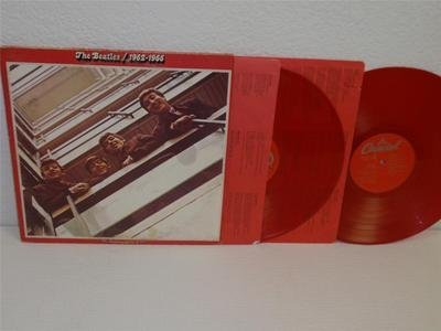 THE BEATLES 1962-1966 (red album) 2-LP Capitol SEBX-11842 RED COLORED VINYL