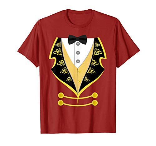 Ringmaster Shirt Circus Costume For Men Women Kids -