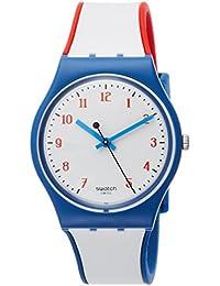 Originals Plein Gaz White Dial Silicone Strap Unisex Watch GN248