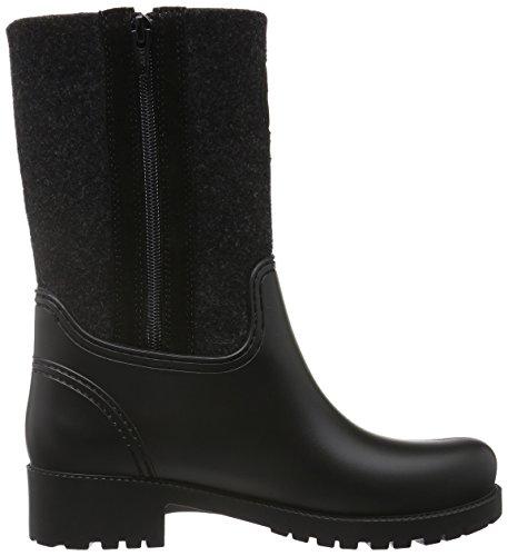 Marc O'Polo 60813567701800 Gummistiefel, Bottes de Pluie Femme Noir (Black 990)