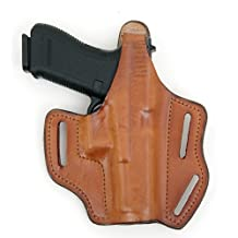 Front Line Multi-Purpose Pancake Leather Holster (Brown)