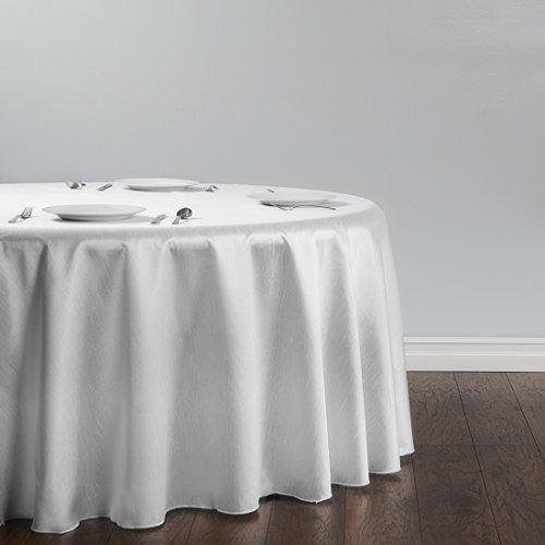 - LinenTablecloth Round Shantung Silk Tablecloth, 118