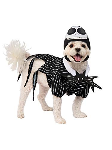 Rubie's Disney: Nightmare Before Christmas Pet Costume, Jack Skellington, X-Large]()