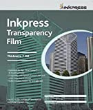 Inkpress Inkjet Transparency Film 11x17 50 Sheets