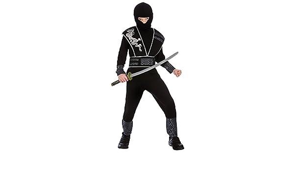 Disfraz de fantasía de Elite Shadow Ninja para niños (L 8-10 años ...