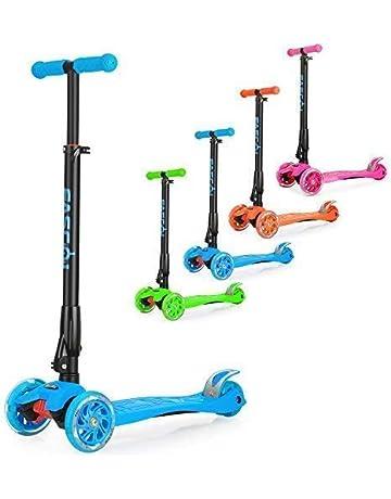 Fascol Patinete de 3 Ruedas con Diseño Scooter para Niños de 2 a 12 Años de