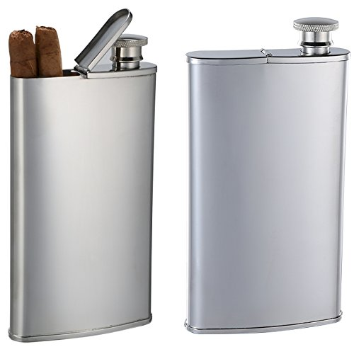 Personalized Stainless Steel Cigar (Cigar Flask)