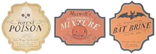 Martha Stewart Crafts Spooky Night Beverage Labels, 48-20407]()