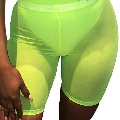 Elastic Waist Mesh Shorts - 9