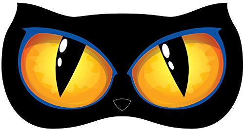 Animated Zombie Cat (UHC Animated Lighted Cat Eyes Horror Theme Party Supplies Halloween Decoration)