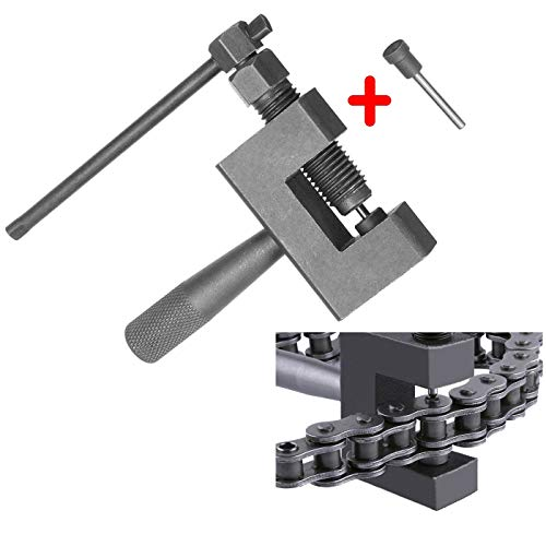 (XinTan Tiger Chain Breaker #420 428 520 525 530 Chain Dismantle Tool Suitable for Motorcycle/ATV Dune Buggy/Mower Chains (Color 2) )
