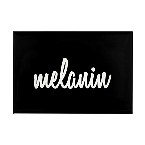 CafePress Melanin Rectangle Magnet, 2