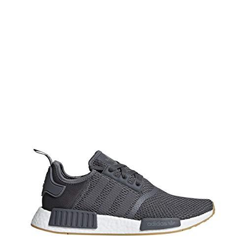 Adidas Originals NMD_R1 - Zapatillas para Hombre, Grey Five/Footwear White-Gum 3, 9 M US