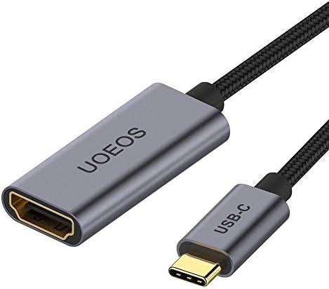 uoeos USB C - HDMIアダプター 4Kケーブル USB 3.1 Type-C - HDMIアダプター MacBook Pro HDMI - USB Cアダプター