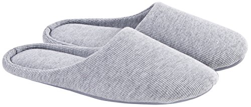 ofoot-womens-cotton-memory-foam-washable-anti-slip-indoor-slippers-grey-size-large-9-10-us