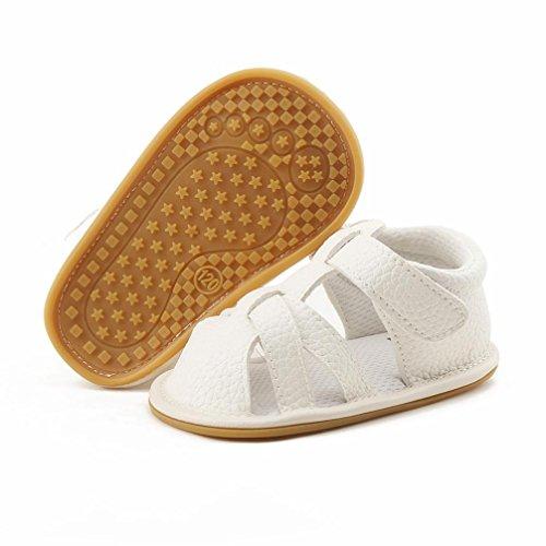 zapatos de bebe primeros pasos, Switchali Recién nacido bebe niña verano moda Suela blanda Antideslizante Sandalias Niños Zapatillas niñas vestir Durable casual Calzado