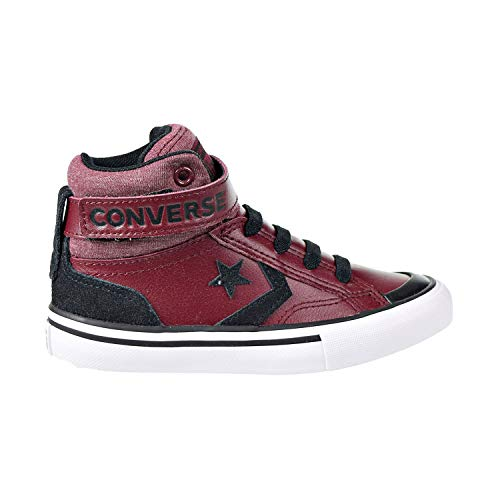 - Converse Boys' PRO Blaze Strap HIGH TOP Sneaker, Brick/Natural, 13.5 M US Little Kid