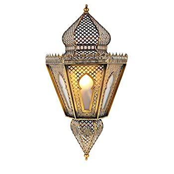 Arabic Hanging Lantern~ Moroccan and Indian Style Pendant Lamp