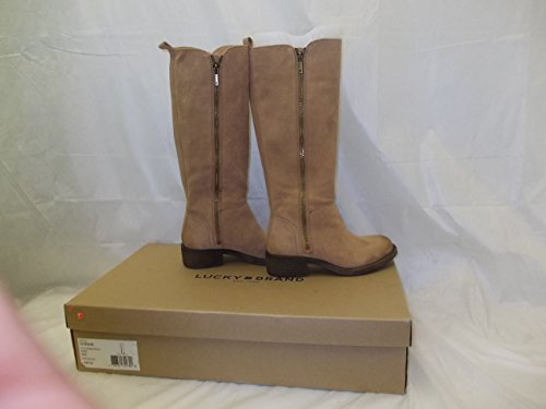 Aztec High 5 35 5 Lucky Tan Knee 5M Bora Brand Women Boot US XYwTzPq