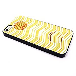 iPhone 5S Case, WKell Circle Wave Hard Back Shell Skin Case Cover for iPhone 5/5S