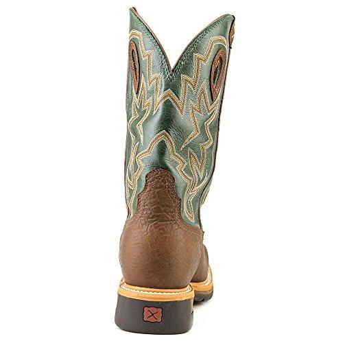 Mlcsw01 Vridd X Menns Lite Cowboy Wp Vernestøvler - Distressed Distressed Skulder / Grønne