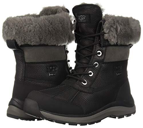 Ugg Women's Black Boot 12 Snow Iii M Adirondack Us W UR4qnaU