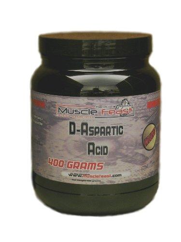 400g d'acide D-aspartique