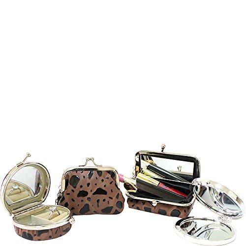 jacki-design-4-piece-accessory-set-brown