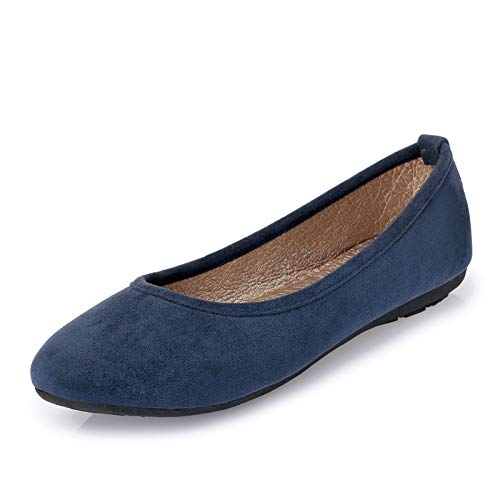 pregnant fashion flat shoes FLYRCX work suede shallow women and Black mouth Spring autumn shoes shoes comfortable qIHx87Hw