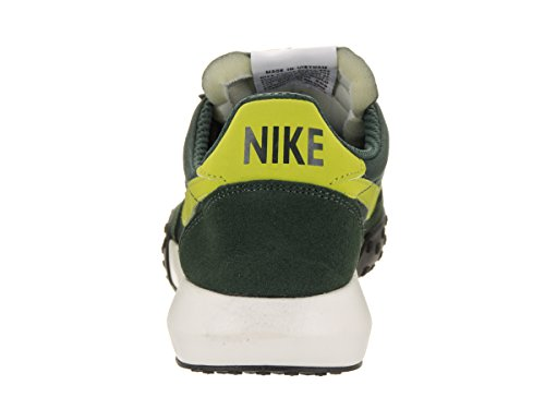 NIKE Mens Roshe Waffle Racer NM Training Shoe Grove Green/Bright Cactus IG20Y