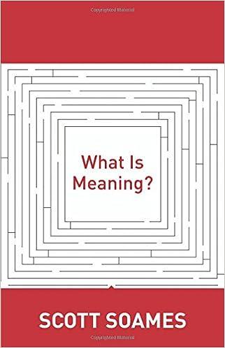 Laden Sie das eBook für kindle herunter What Is Meaning? (Soochow University Lectures in Philosophy) by Scott Soames 0691156395 PDF CHM