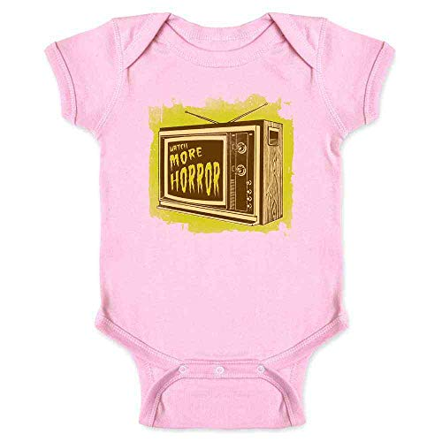 Pop Threads Watch More Horror Retro Halloween Costume Zombie Pink 24M Infant Bodysuit