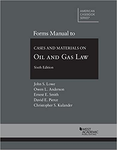 Counting Number worksheets gas law worksheets : Forms Manual to Cases and Materials on Oil and Gas Law (American ...