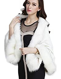 Amazon.com: White - Fur & Faux Fur / Coats, Jackets & Vests ...