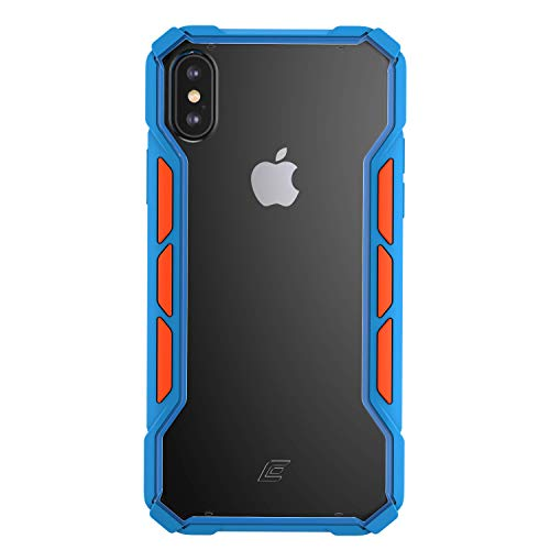 Latest Element Case Rally Drop Tested case for iPhone Xs Max - Blue/Orange (EMT-322-195E-03) orange iphone xr case 12