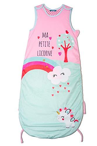 Baby Love - Saco de dormir ajustable, diseño de unicornio ...