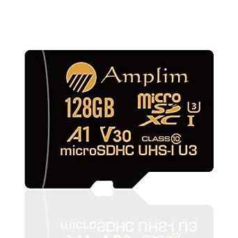 Camera Class 10 U3 UHS-I MicroSD XC Extreme Pro Amplim 128GB Micro SD SDXC V30 A1 Memory Card Plus Adapter Pack Drone Cell Phone 128 GB Ultra High Speed 667X 100MB//s UHS-1 TF MicroSDXC 4K Flash