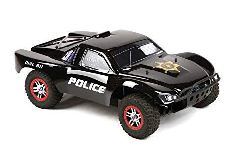 SummitLink Compatible Custom Body Police Style Replacement for 1/10 Scale RC Car or Truck (Truck not Included) SS-PO-01 Decal 4 Car Truck